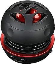 (新) AYL 便携式蓝牙无线版本4.0可充电迷你音箱系统适用于 PC / 手机 / 平板电脑 / MP3播放器 + 3年保修
