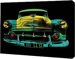 "PrintArt GW-POD-53-WDC42147-30.48x40.64 cm Auto Neon II"" 由 Didier Mignot 创作画廊装裱艺术微喷油画艺术印刷品,30.48 cm x 40.64 cm"