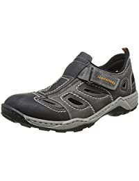 Rieker 男 户外运动凉鞋 0 8075(亚马逊进口直采,德国品牌)