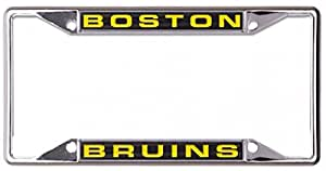 WinCraft NHL 波士顿棕熊队金属车牌架 镶嵌丙烯酸纤维