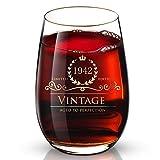 定制 24K 金手工奢华饮用酒杯,适合婚礼、周年纪念、生日、假期和任何重要场合,是伴娘、妻子和儿子的理想礼物。 1942