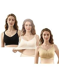 iLoveSIA 断码清货孕妇内衣胸罩美国品牌无钢圈哺乳文胸产后喂奶 三排扣