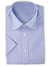 [OKI] 保养简单 短袖免烫衬衫 ( 棉混纺 / 凉爽 / 吸汗速干 / 商务 / CoolBIS ) 男士
