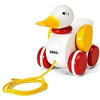 BRIO 拉动鸭子宝宝玩具
