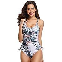 Lilly Posh 性感夏日系列淡棕櫚色連體泳衣