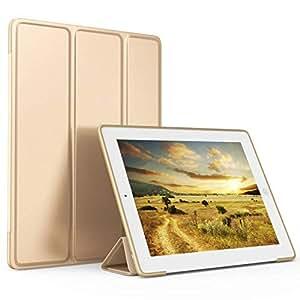 iPad 2 保护套、iPad 3 保护套、iPad 4 带铅笔架保护套;超薄轻质智能保护套 TPU 软硅胶支架,适用于 iPad2/3/4