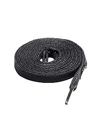 109.22 厘米扁平黑色鞋带,* 多功能运动鞋带适用于 Wali Sports 出品的运动鞋和靴子。