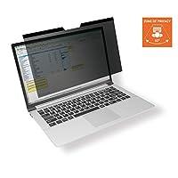 耐用视力保护滤镜适用于 MacBook Pro® 16,磁性固定,含袋子和清洁布,煤黑色 515757