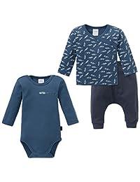 Schiesser 西装套装 Grand Prix 婴儿男婴,3 件装