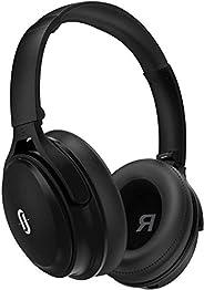 主动降噪耳机快速充电,TaoTronics 蓝牙耳机40小时播放时间 aptX Type-C