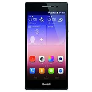 HUAWEI 华为 Ascend P7-L07 移动4G手机(黑色 移动定制版) 6.5mm双玻璃超薄机身,5英寸全高清屏幕,1300万+800万摄像头