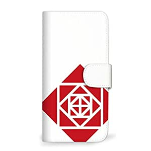 MITAS 智能手机保护壳翻盖型玫瑰几何图案简约  A 36_ZenFone 5 (A500KL)