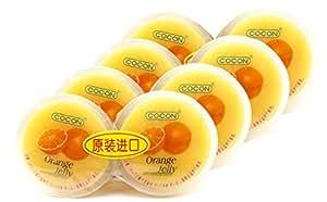 COCON可康牌甜橙味果冻(2粒装))236g*4(马来西亚进口)