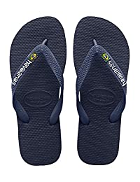 Havaianas 男士人字拖凉鞋,巴西徽标