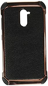 MyBat Cell Phone Case for ZTE Grand X Max 2 - Black Lychee Grain