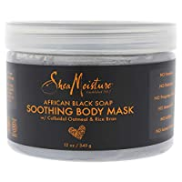 Shea Moisture 非洲黑肥皂舒缓身体面膜 Shea Moisture 男女皆宜 - 340.19 g 面膜,340.19 g