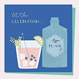 一般生日贺卡 - 喝酒 - 杜松子酒