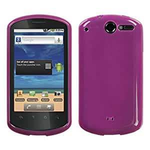 MyBat Semi Transparent Candy Skin Cover for HUAWEI U8800 (Impulse 4G) - Retail Packaging - Hot Pink