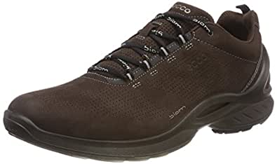 ECCO 爱步 男士 Biom Fjuel Train休闲运动鞋 步行鞋, Mocha, 40 M EU (6-6.5 US)
