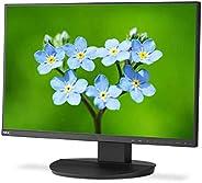 NEC MultiSync EA231WU 黑色 57.15 厘米 22.5 英寸 LCD LED IPS 窄光圈 1920 x 1200 WUXGA DisplayPort HDMI DVI D-SUB