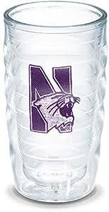 Tervis Northwestern University Emblem Individual Tumbler, 10 oz, Clear
