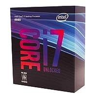 Intel 英特尔 酷睿 i7-8700K台式机处理器6内核高达4.7GHz Turbo Unlocked LGA1151 300系列 95W