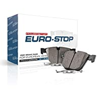 Power Stop ESP2538 Euro-Stop ECE-R90 后刹车片