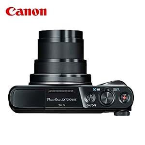 佳能/Canon PowerShot SX720 HS 长焦数码相机 家用旅游相机 (黑色【套餐含配件】)