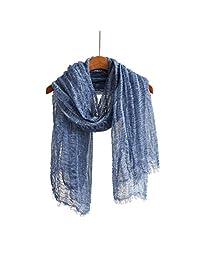 羊毛羊绒触感冬季围巾披肩和包裹,经典纯色或格子软围巾男女皆宜