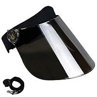 遮陽帽防紫外線 - 高級可調節太陽頭帶面罩