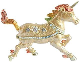 Pure Earth 珠宝收纳 金色 约7.5×9.5×2.5厘米