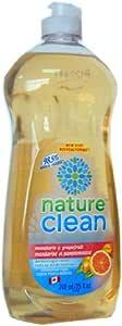 NATURE CLEAN 纯净生活洗碗液(柑橘,葡萄柚精油浓缩)740ML