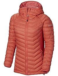 Columbia 哥伦比亚 女士连帽夹克 Powder Lite 轻量连帽夹克 Hi-Loft 合成保暖 1773211