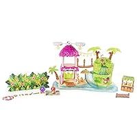 Hatchimals CollEGGtibles 热带派对玩具套装带灯、声音和** 4 季 CollEGGtibles 适合 5 岁及以上儿童