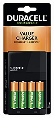 Duracell 15 Minute Charger With 2AA And 2AAA Rechargeable Batteries