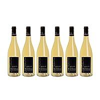 Joel Robuchon 乔尔·侯布匈 Sauvignon blanc 长相思干白葡萄酒  750ml*6(亚马逊进口直采,法国品牌)