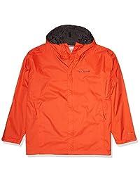 Columbia 哥伦比亚 男式 防水 II 前拉链连帽防雨夹克(袖口LOGO样式随机)