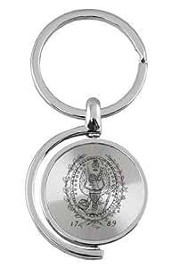 乔治敦大学 - Spinner 钥匙牌 - 银色
