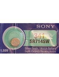 一 (1) X 索尼 341 SR714SW 氧化银手表电池 1.55v 吸塑包装