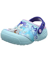 Crocs 女童 Funlablndfrozen 洞洞鞋