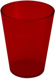Coza Design 20218/0111 耐用塑料杯,均码,红色