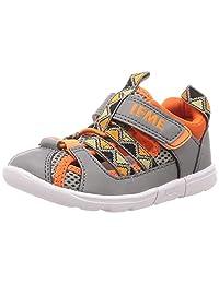 IFME 儿童凉鞋 防水鞋底 15厘米~21厘米 男童 女童图案 网布