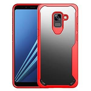 SAMSUNG GALAXY A8+ / A8PLUS 手机壳2018 Topace 防震 drop-protection 耐划伤减震软硅胶保护壳三星 GALAXY A8+ / A8PLUS 201815.2cm 红色
