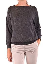 1d88023fbb95 BRUNELLO CUCINELLI 女人MCBI35685 灰色羊绒运动衫 意大利直邮 亚马逊海外卖家