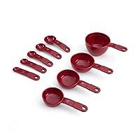 KitchenAid 凯膳怡 量杯量勺9件套 红色 KC475OHERA