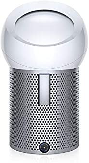 Dyson 戴森 Pure Cool Me 个人空气净化风扇,HEPA空气净化器和风扇,去除污染物、灰尘、霉菌、VOC,用于书桌、床头柜、边桌,BP01 白色