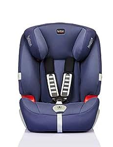 Britax 宝得适 汽车儿童安全座椅 Evolution123 超级百变王白金版 皇室蓝 五点式安全带 适用于体重9-36kg 9个月-12岁