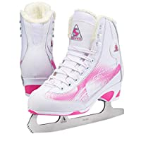 Jackson Ultima 儿童图案滑冰鞋 Softec RAVE RV2001,有粉色或紫色可选