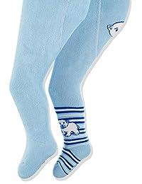 Playshoes Baby Thermo-strumpfHosen Eisbär Mit Komfortbund 紧身裤(2 件装)