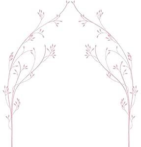 LittleLion Studio 065001010000000000000000 Vineyard 遮阳蓬 墙贴 浅粉色 065021429000000000000000